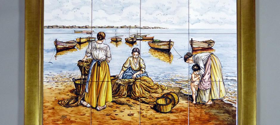 Murales de cer mica artesanal xavier claur galer a 7 de murales de cer mica - Murales de ceramica ...