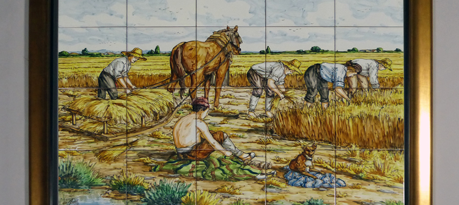 Murales de cer mica artesanal xavier claur galer a 6 de murales de cer mica - Murales de azulejos ...